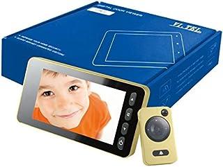 VI.TEL. E0393 40 Spioncino Digitale 4.3' con Sensore di Movimento, Oro