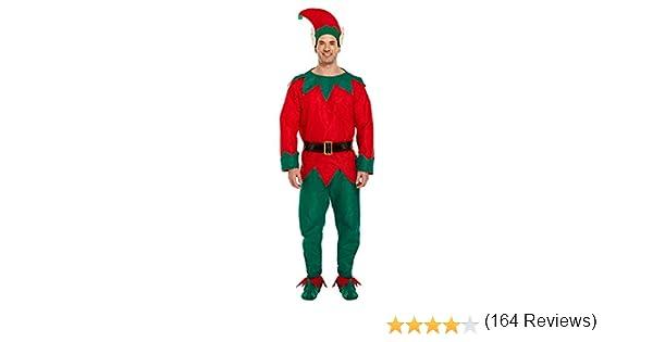 Henbrandt - Disfraz de elfo para hombre, talla M: Amazon.es ...