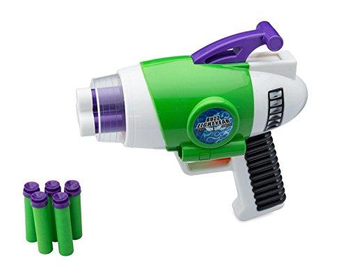 Toy Story - Buzz Lightyear's Foam Nerf Gun Blaster w/ Lights & Sounds (Toy Foam Blasters & Guns)