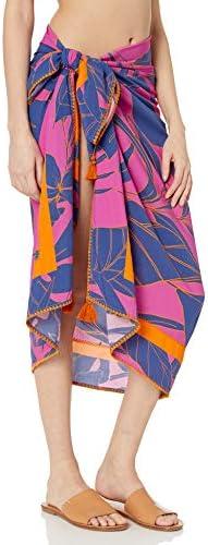 Maaji Women's Mixed Print Multi Way Sarong Cover Up Pareo