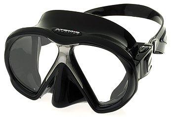 Atomic Aquatics Subframe Scuba Snorkeling Dive Mask, BK/BK by Atomic