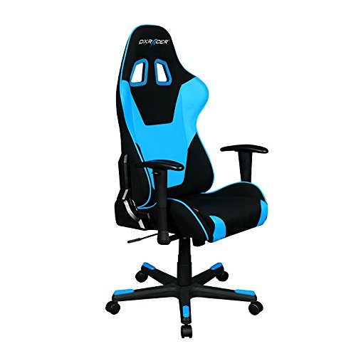 DXRacer Formula Series DOH/FD101/NB Newedge Edition Office Chair Gaming Chair Ergonomic Computer Chair eSports Desk Chair Executive Chair Furniture With Pillows(Black/Blue)