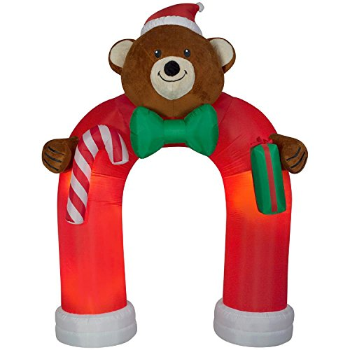 Outdoor Lighted Teddy Bear in US - 2
