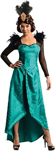 Rubie's Costume Disney's Oz The Great and Powerful Adult Deluxe Evanora Dress and Headpiece, Green, (Oz Witch Costume)
