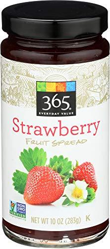 365 Everyday Value, Strawberry Fruit Spread, 10 oz