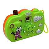 lightclub Fun Cartoon Camera Toy 8 Patterns Change Cognition Educational Toys for Baby Kids Random Color