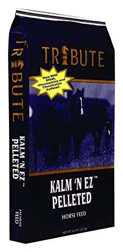 Kalmbach Feeds Tribute Kalm 'N Ez Gc Plus Pellets for Horse, 50 lb