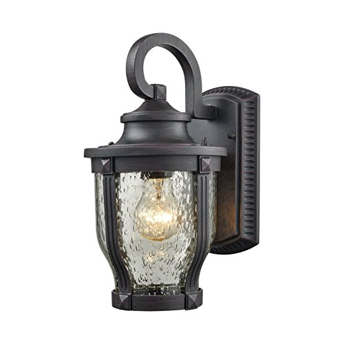 Outdoor Wall Sconce in Graphite Black - In Milford Stores