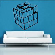 Rubik's Cube Decal Wall Sticker (ret16)