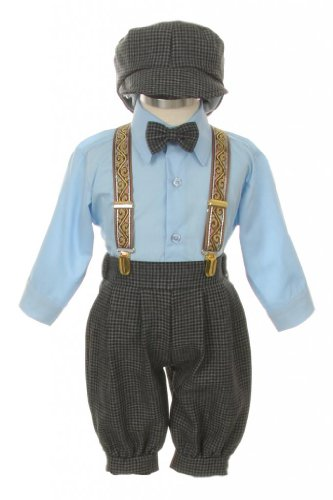 SK Vintage Suit Tuxedo Knickers Toddler product image
