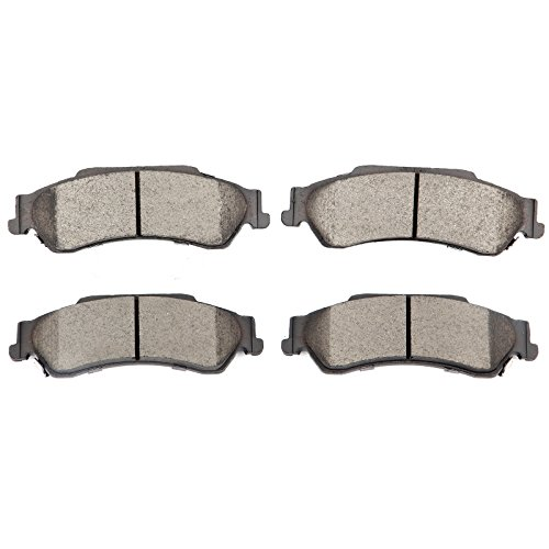 Chevrolet Brake Disc S10 (SCITOO Compatible Ceramic Discs Brake Pads,4pcs Rear Brake Pads Brake Kits Replacement fit for 97-05 Chevrolet Blazer,98-04 Chevrolet S10,97-01 GMC Jimmy,98-04 GMC Sonoma,98-00 Isuzu Hombre)