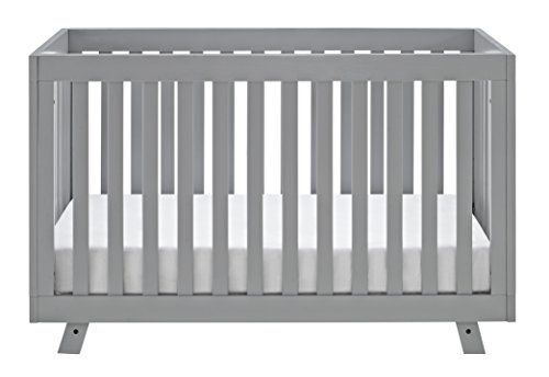 Storkcraft Beckett 3-in-1 Convertible Crib, Pebble Gray by Stork Craft