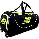 New Balance DC580 Cricket Wheelie Bag - Black/Yellow