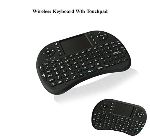 anewkodi i8 2 4ghz multi media portable wireless handheld mini keyboard with touchpad mouse for. Black Bedroom Furniture Sets. Home Design Ideas