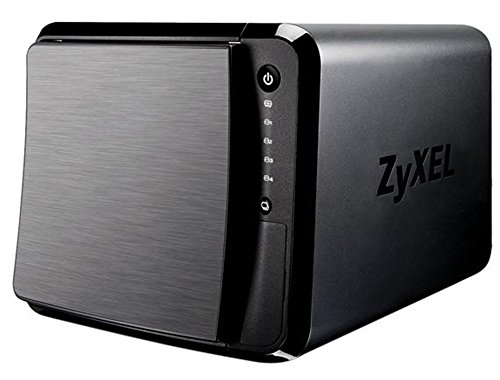 ZyXEL [NAS540] 16TB Personal Cloud Storage [4-Bay] for Home with iOS & AndroidRemote Access and Media Streaming (Built-In 4x HGST 4TB Enterprise NAS HDD) – Retail