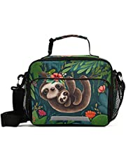 Sloth Lunch Box for Girls Lunchbox for School Insulated Cute Sloths