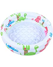 Waterproof 60cm/23.6in Baby Mini Pool, Inflatable Round Children Dinosaur Swimming Pool, for Babies Kids Training