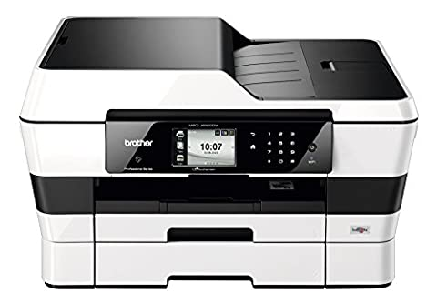 Brother - Mfc-J6920dw Pro Wireless Wide Format Inkjet All-In-One Copy/Fax/Print/Scan