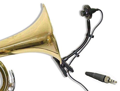 2pcs Instrument Mic Horns Saxophones Trumpet Tuba Drum for Sennheiser Wireless by sousaphone