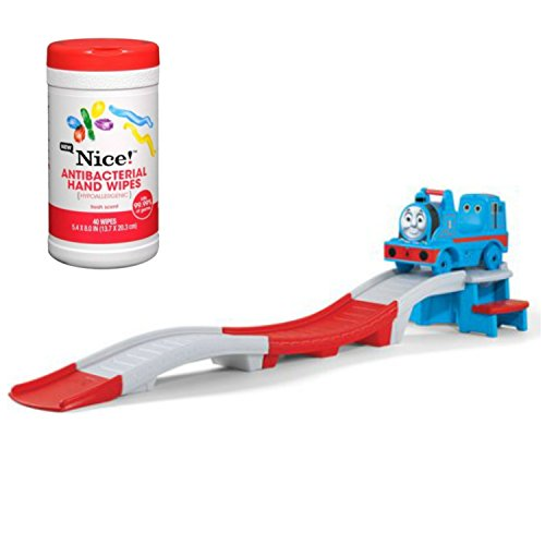 Step2 Thomas the Train Up & Down Roller Coaster Ride-On Toy