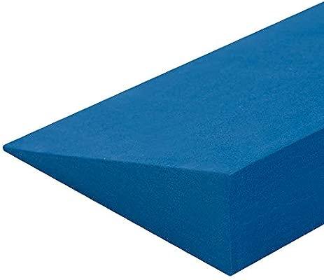 Yoga Studio Yoga Cuña - Azul, 50x15x5 cm, Cuña EVA ...