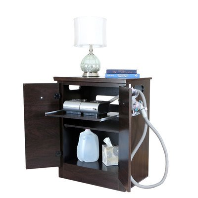 - CPAP Nightstand Finish: Mahogany