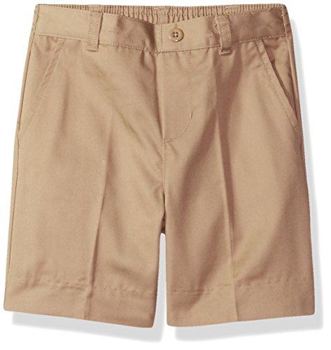 Classroom Little Boys' Uniform Flat Front Short,Khaki,3T