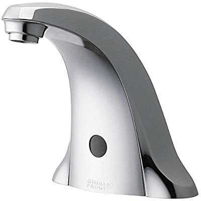 Chicago 116.706.AB.1 Faucets Electronic Metering Faucet with Infrared Sensor, Chrome