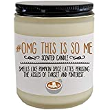 Funny Gift for Her Gift for Friend Gift OMG This is So Me Scented Candle Funny Candle Funny Christmas Gift Funny Birthday Gift Holiday Gift