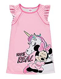 Disney Minnie Mouse Girls Soft & Comfortable Nightgown - Cute PJ 5