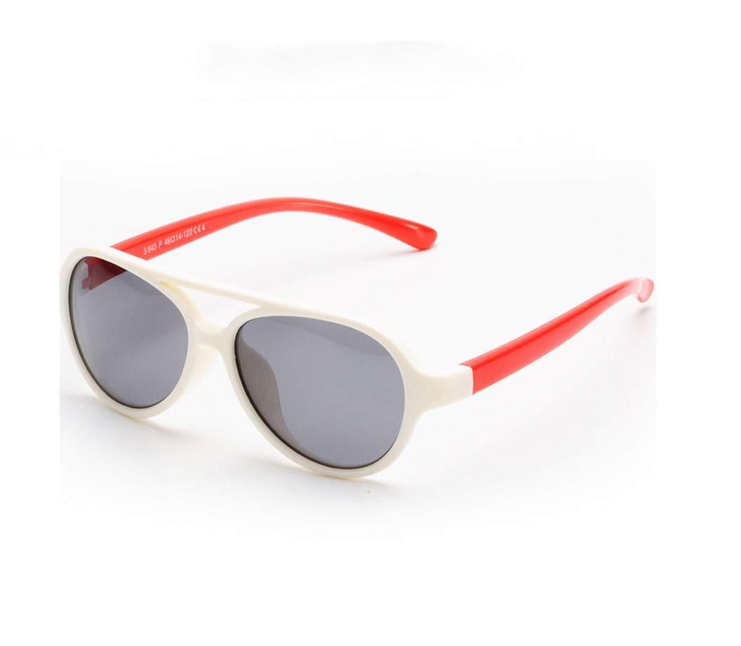 para beb/és y ni/ños de 1 a 8 a/ños SHISI Gafas de sol polarizadas con marco flexible de goma para ni/ños y ni/ñas