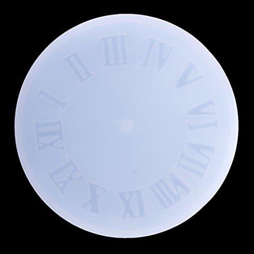 DIYシリコーン時計金型樹脂ジュエリーペンダントフォンダンケーキ装飾金型時計時計ベーキング金型クラフト石鹸フォーム - 様式2