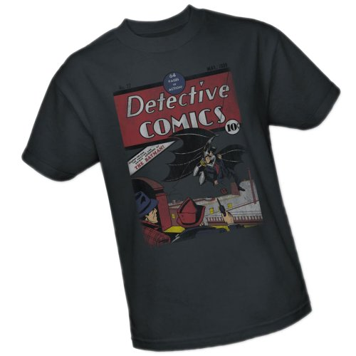 Distressed Detective Comics #27 -- DC Comics Adult T-Shirt, X-Large