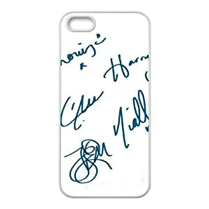 One Direction Signature CUSTOM Cover Case for iPhone ipod touch4 LMc-53410 at LaiMc
