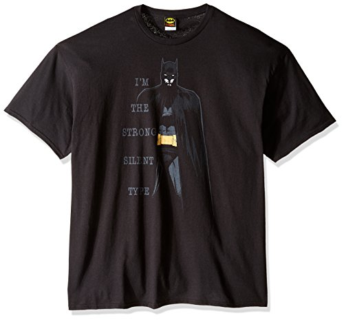 DC Comics Men's Big Silent Type T-Shirt at Gotham City Store
