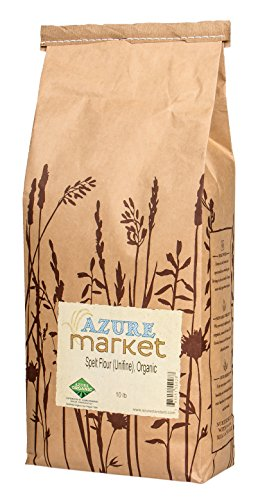 Azure Market Organics Spelt Unifine Flour, Non-GMO, 10 lb