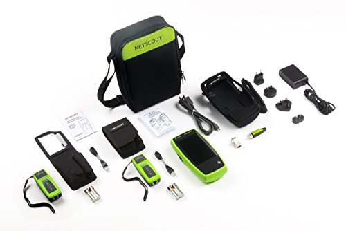 NETSCOUT LR-G2-LS-KIT LinkRunner G2 Smart Network Tester with LinkSprinter X2 Kit