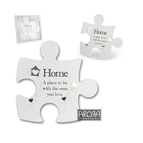 Jigsaw Wall Art ~ Said with Sentiment ~ Interlocking ~ HOME