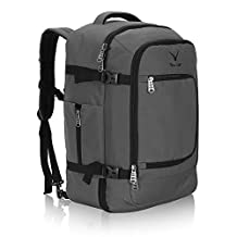 Hynes Eagle 40L Flight Approved Weekender Carry on Backpack Grey - Size 34x51x25cm