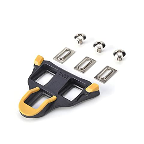 WEANAS Road Bike Cleats 6 Degree Float Self-locking Cycling Pedal Cleat For Shimano SH-11 SPD-SL Road Cleats Fit Most Road Cycling (Bike Cleat Adaptor)