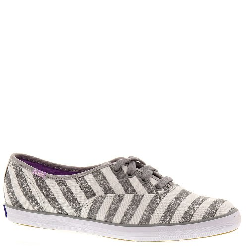 Keds Womens Shoes Champion Seasonal Sneakers Canvas Spring 2015 Gray Textured Canvas uwow2