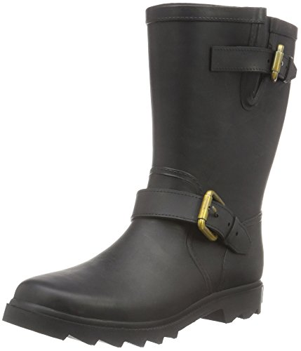 Marc O'Polo Women's 60813627701801 Gummistiefel Ankle Boots, Black (Black 990), 7 UK