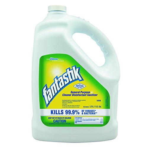 Fantastik 682269 All-Purpose Cleaner, Pleasant Scent, 1 gallon Bottle (Case of 4)