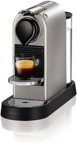 Krups CitiZ Independiente Totalmente automática Máquina de café en cápsulas 1L 1tazas Plata - Cafetera (Independiente, Máquina de café en cápsulas, 1 L, Dosis de café, 1260 W, Plata): Amazon.es: Hogar