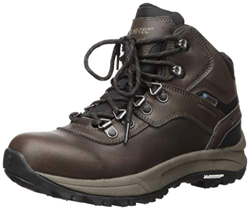 Hi-Tec Mens Altitude VI I Waterproof Wide Hiking Boot, Adult, Dark Chocolate, 8 Wide