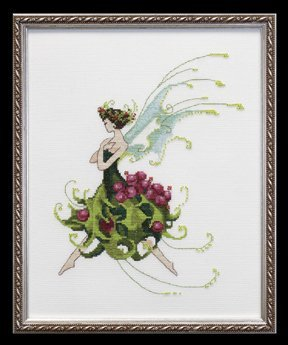 Holly Cross Stitch Pattern
