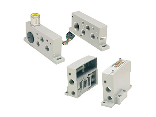 Parker Hannifin PS5620L60P End Plate Kit for Isys ISO Series Size HA and HB Valve, Isysnet with Valve Driver Module, NPT Port