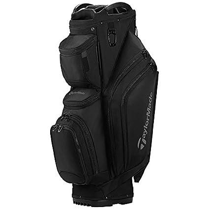 fe76a63d1b Amazon.com : TaylorMade Supreme Cart Golf Bag Black : Sports & Outdoors