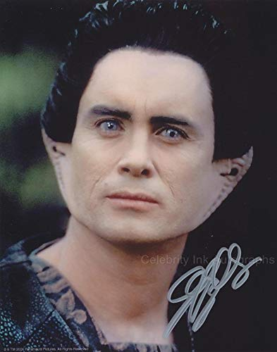 JEFFREY COMBS as Weyoun - Star Trek: Deep Space Nine GENUINE AUTOGRAPH