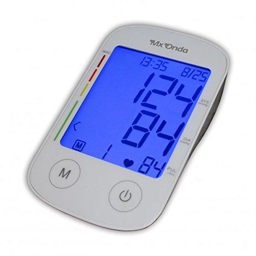 Mx Onda MX-CP2395 - Tensiometro de brazo con locucion e voz + termometro digital: Amazon.es: Salud y cuidado personal